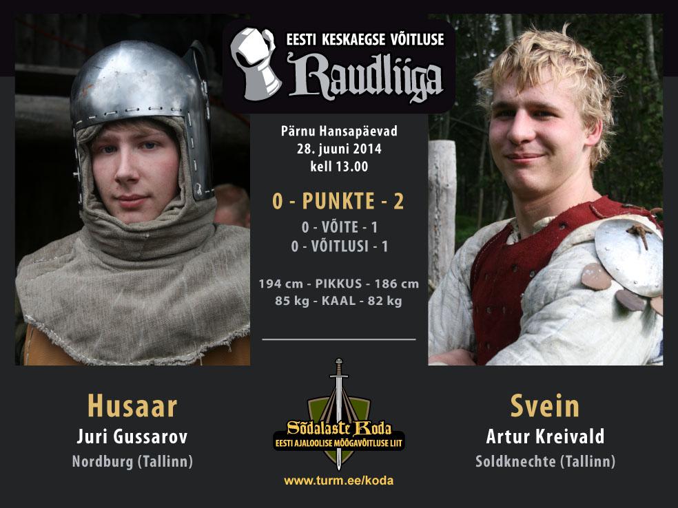 Husaar vs Svein