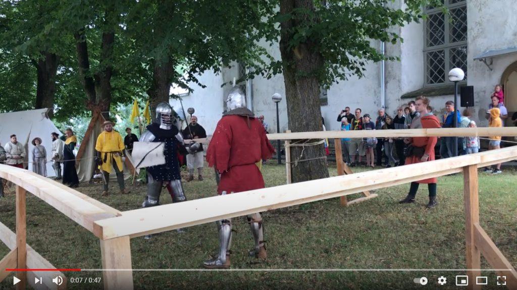 Rakvere Rüütliturniir Andrei vs Hartman