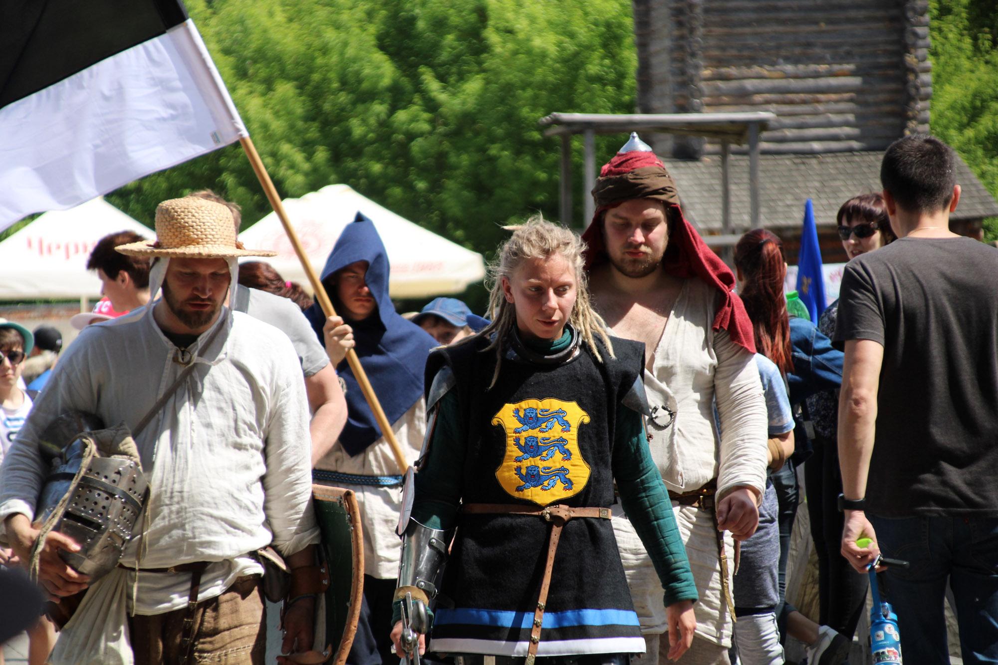 Sõdalaste Koja rüütlid IMCFil Ukrainas