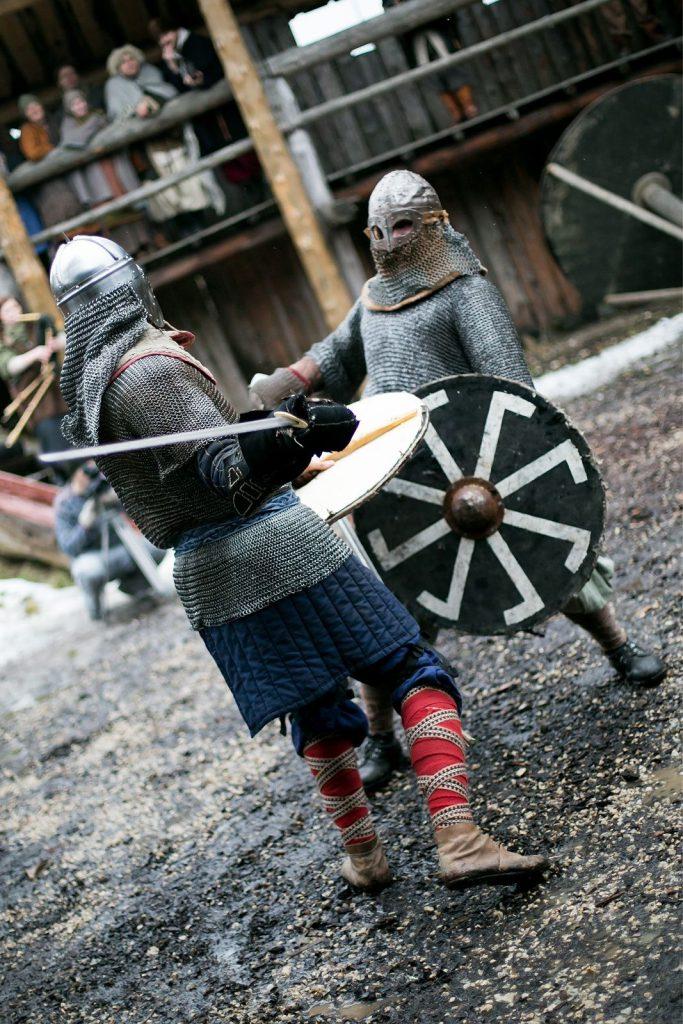 Sõdalaste Koja viikingite võitlus